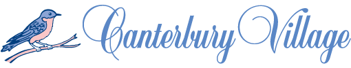 canterbury village logo